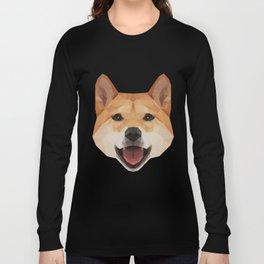 Heckin Handsome Shiba Inu Long Sleeve T-shirt