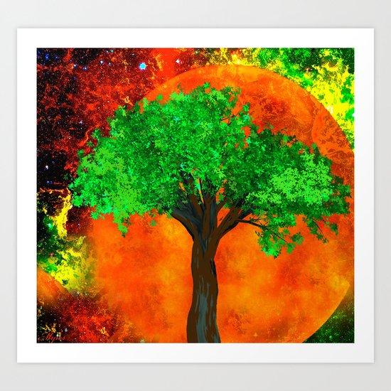 THE FOREVER TREE Art Print