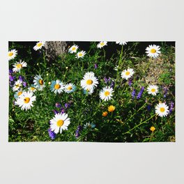 Wildflowers by the River Rug