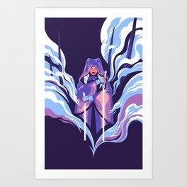 """Ahsoka"" by Matt Kehler Art Print"