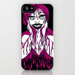 Dripping With Hunger iPhone Case