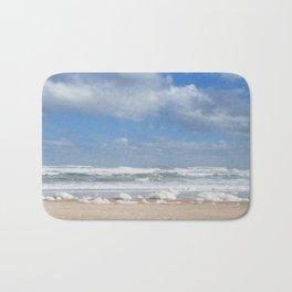 Let the Sea Foam Roll-Ormond Beach, Florida Bath Mat
