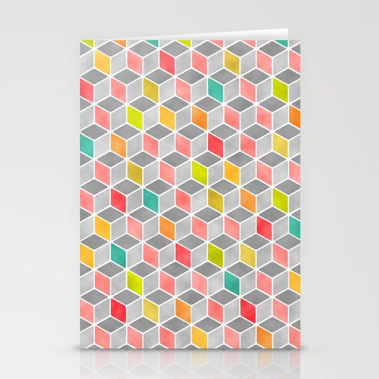 Block Party Bright Stationery Cards