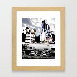 fifty trips around the sun Framed Art Print