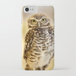 Burrowing Owl 1 iPhone Case