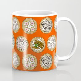 dim sum - orange Coffee Mug