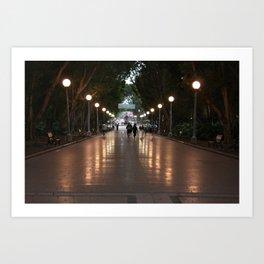 melbourne luna park Art Print