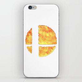 Super Smash logo iPhone Skin