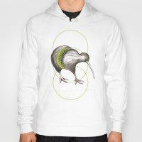 kiwi Hoodies featuring Kiwi by Alexander Salazar