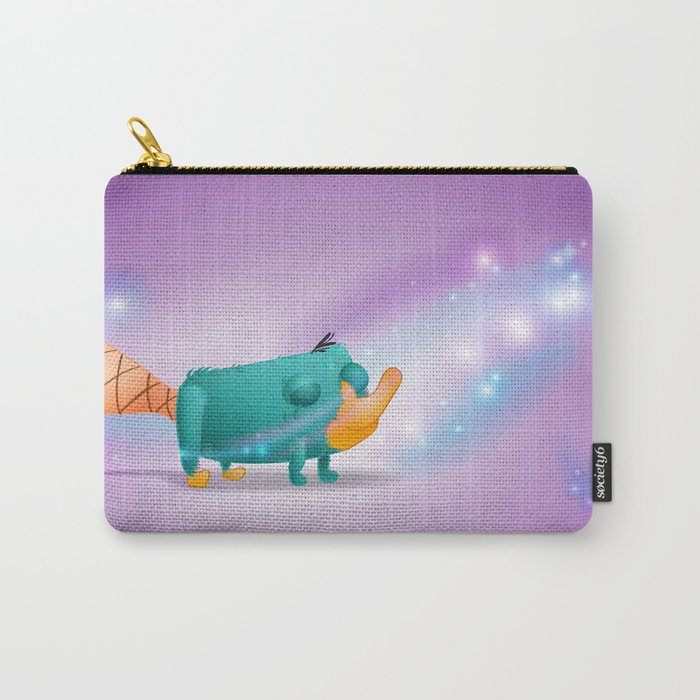 Fan Art Installment 1: Perry on the Wind Carry-All Pouch