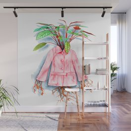 Inside Her Something Grows Wall Mural