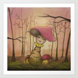 Autumn Dawn Art Print