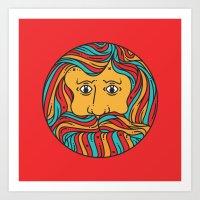 circle Art Prints featuring Circle by Brad Hansen