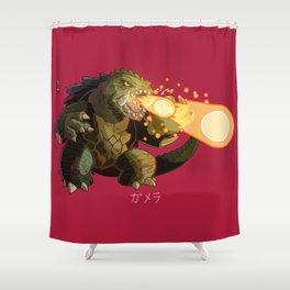 Gamera Shower Curtain