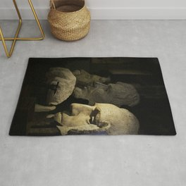 Faces of Rushmore Rug