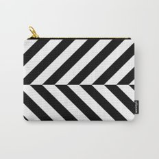 Black and White Op Art Design Carry-All Pouch