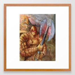 Pyro Guardian Framed Art Print