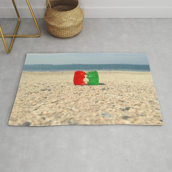 Gummy Bear Beach Kiss Rug