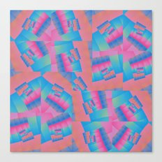 Colour Patch Canvas Print