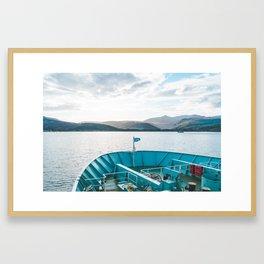 Isle of Arran Ferry, Scotland Framed Art Print