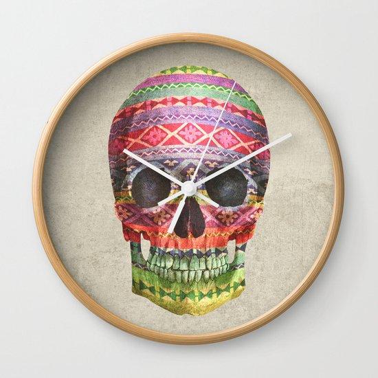 Navajo Skull  Wall Clock
