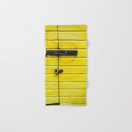 Yellow Compas Hand & Bath Towel