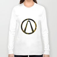 borderlands Long Sleeve T-shirts featuring Borderlands by Bradley Bailey