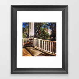 On Sunday, in the South Framed Art Print