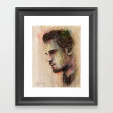 Michael Fassbender Framed Art Print