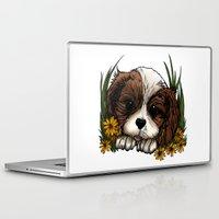 puppy Laptop & iPad Skins featuring Puppy by Adamzworld