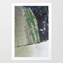 Abstract paint  Art Print