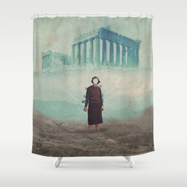 Mrs. Loneliness Shower Curtain