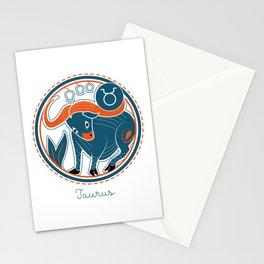 Taurus Zodiac Sign Stationery Cards