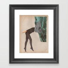 Hypomaniac Framed Art Print