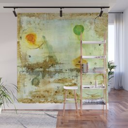 Drifting, Abstract Landscape Art Painting Wall Mural