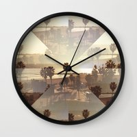 venice Wall Clocks featuring Venice by Trees Without Branches