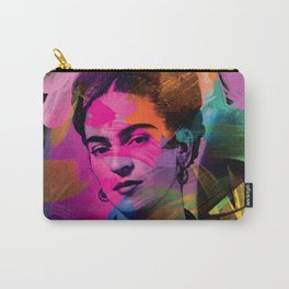 Frida Kahlo - Colors Carry-All Pouch