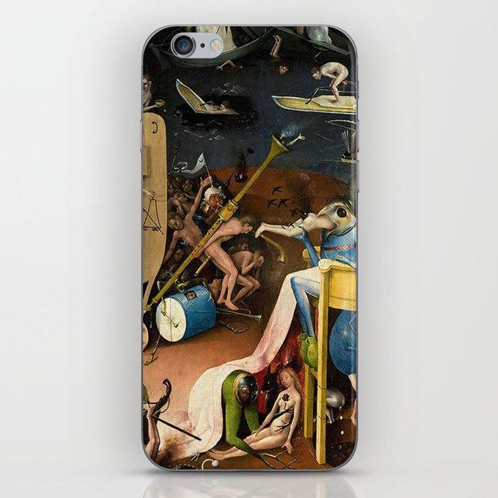 The Garden of Earthly Delights Bosch Hell Bird Man iPhone Skin