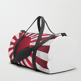 Japanese Rising Sun Flag Duffle Bag