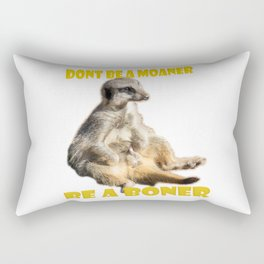 Meerkat Boner Rectangular Pillow