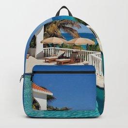 sea beach hacienda Backpack
