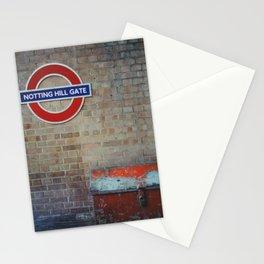 London - Notting Hill Gate Stationery Cards