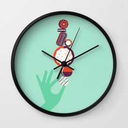 Cookie Tower Wall Clock