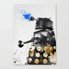 Doctor Who Dalek Canvas Print