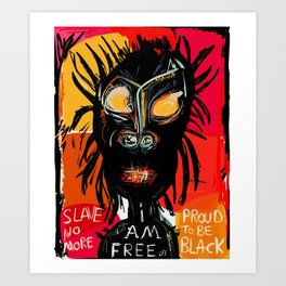 Slave no more Art Print