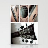guitar Stationery Cards featuring Guitar by TJAguilar Photos