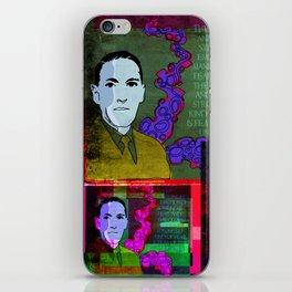 H.P. LOVECRAFT (GOTHIC AUTHOR) COLLAGE iPhone Skin