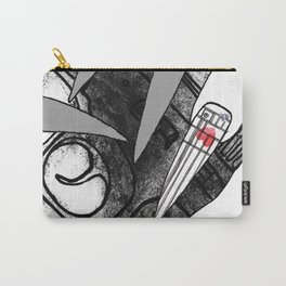 Straw Purchase Illustration Carry-All Pouch