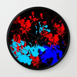 Abstract Color Art Wall Clock