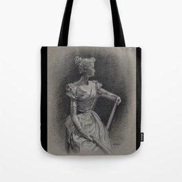 Sitting Lady, Dame Assise, Paul du Bois, Bruxelles Tote Bag
